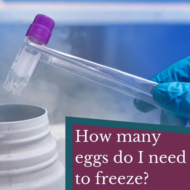 How many Eggs Do I Need to Freeze?