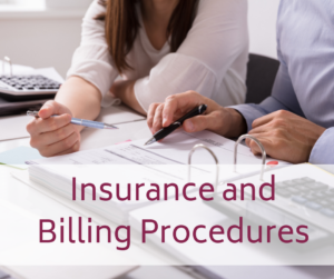 CFMC insurance and billing procedure