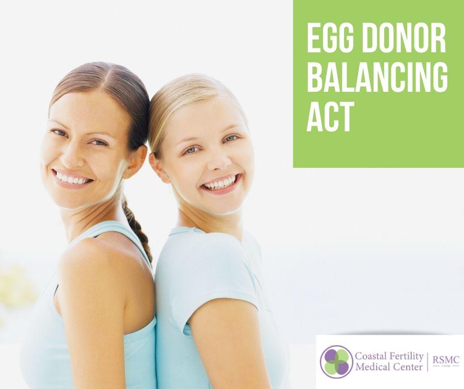 Egg Donor Balancing Act