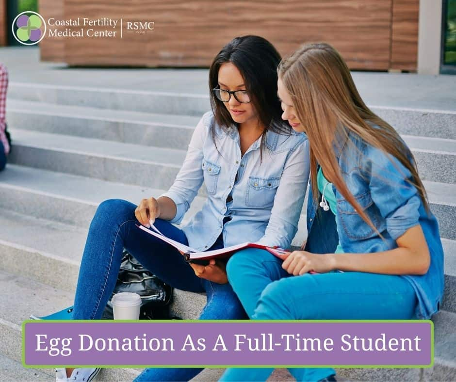 Egg Donation As A Full-Time Student